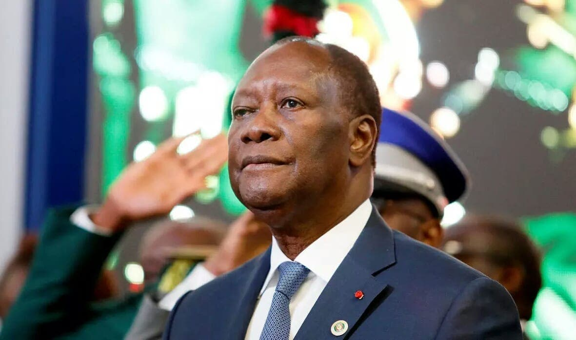 """Euronews évoque """"le mandat de trop"""" d'Alassane Ouattara"""
