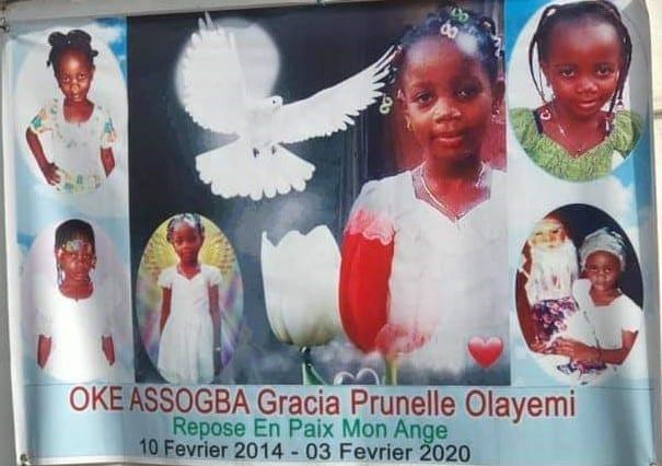 Bénin : Obsèques d'une petite fille tuée pour un rituel
