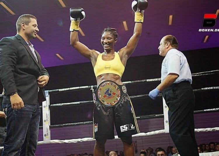 Qui est Bintou Schmill, la togolaise championne d'Europe de boxe?