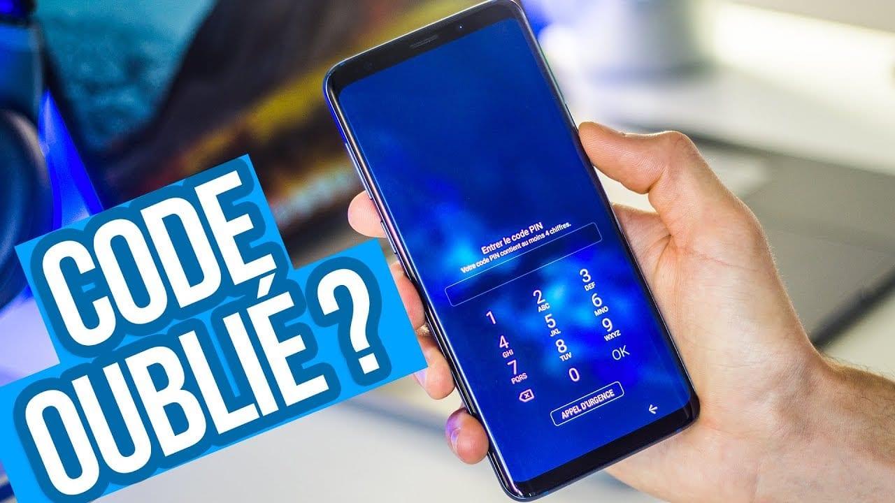 Smartphone : que faire lorsque j'ai perdu mon code PIN ?