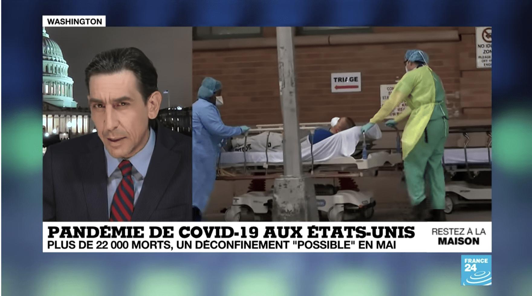 Covid-19 aux Etats-Unis : plus de 22 000 morts, un déconfinement «possible» en mai