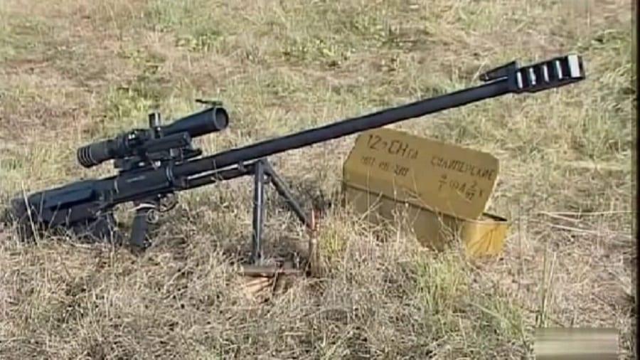 Ce fusil permettra aux tireurs d'élite russes d'abattre des hélicoptères en embuscade