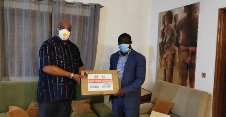 Côte d'Ivoire: Huawei offre du matériel de prévention contre le covid-19