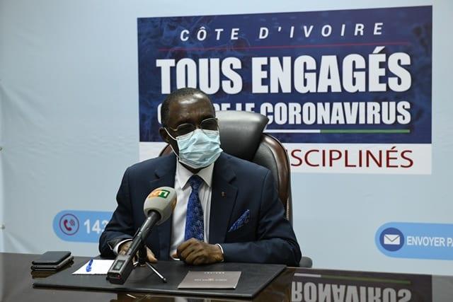 Coronavirus Côte d'Ivoire : le bilan s'alourdit, 626 cas ce 13 avril 2020