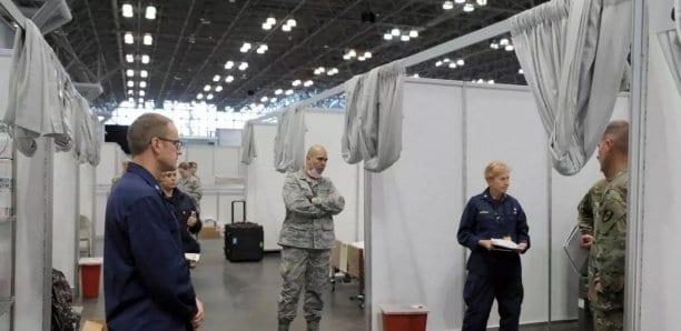 Coronavirus aux États-Unis : 731 morts en 24 heures dans l'état de New-York, un record