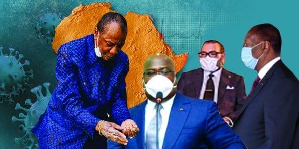Coronavirus : quand les chefs d'État africains font dans la prévention (images)