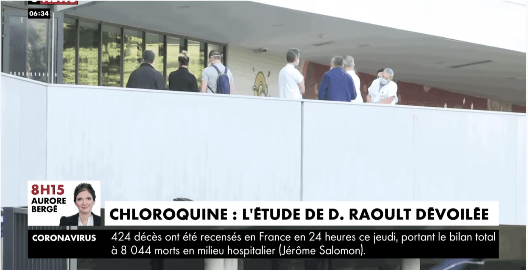 Coup de tonnerre: Didier Raoult annonce 91% d'efficacité de la Chloroquine (video)