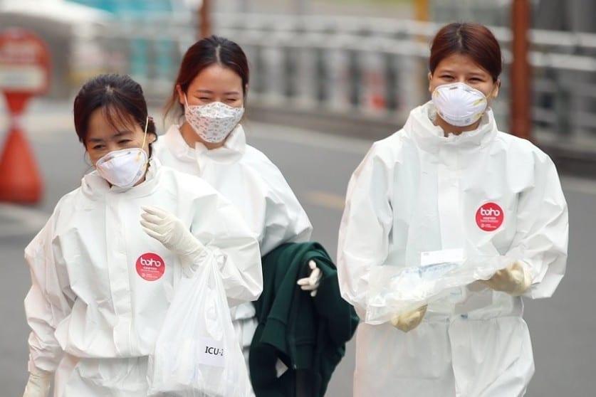 Covid 19 en Corée du Sud : 8 nouveaux cas enregistrés après environ deux mois