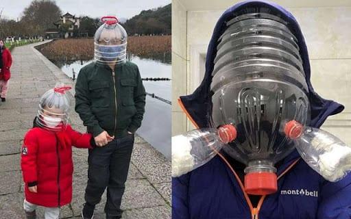 Covid 19: découvrez ces masques de protection qui font un gros buzz sur la toile (images)