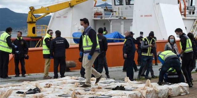 Un navire togolais intercepté en Espagne avec quatre tonnes de cocaïne
