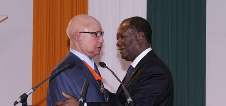 Décès de l'ambassadeur Eugène Aidara en France