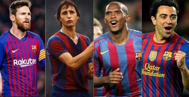 Découvrez le Top 30 des meilleurs joueurs du Barça