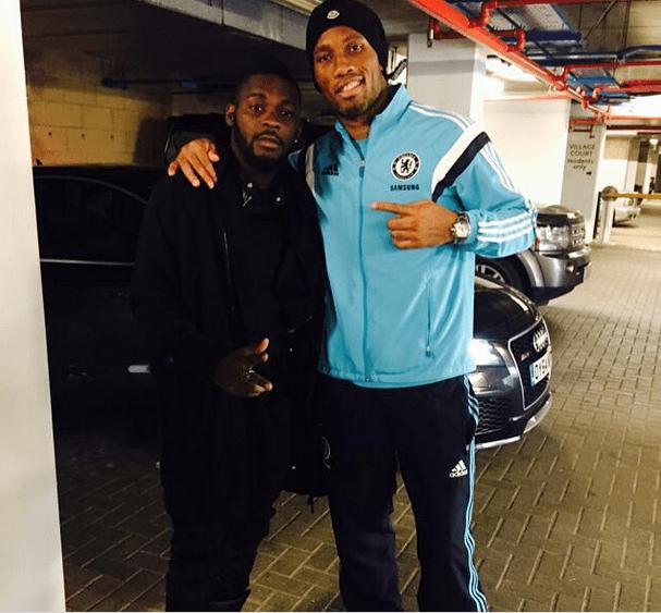 Didier Drogba révèle qu'Arafat DJ est » quelqu'un de timide»