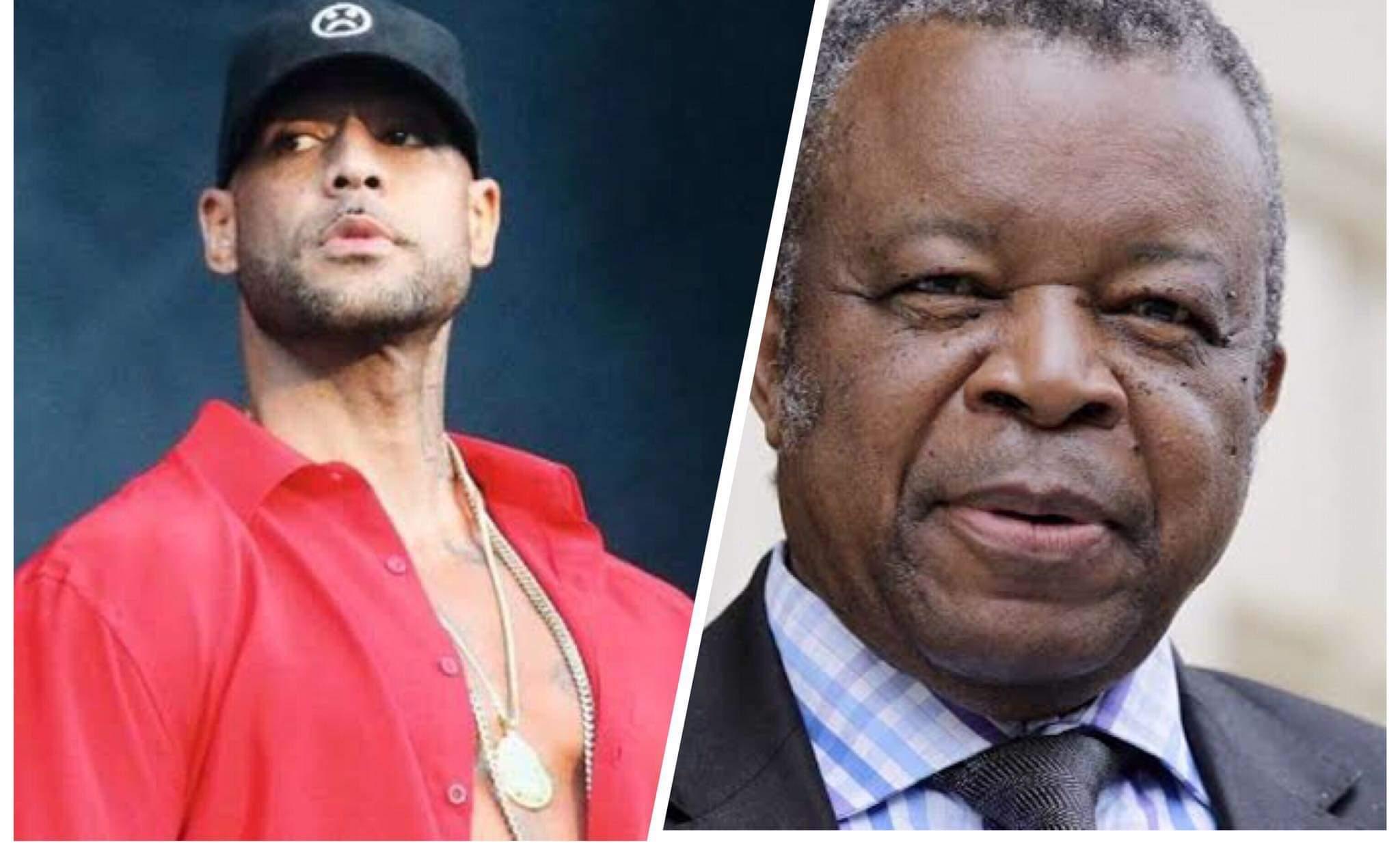 """Congo: Booba s'en est pris au Docteur Muyembe: """"Tu vois les retombées !!! """""""