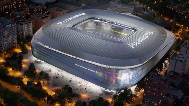 Espagne : le Real Madrid dévoile son nouveau Stade