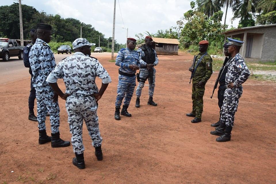 Frontière Côte d'Ivoire-Ghana : 6 ghanéens arrêtés à Niablé pour avoir contourné le dispositif sanitaire