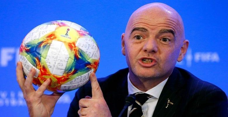 Gianni Infantino : son avis sur la reprise du football cette saison