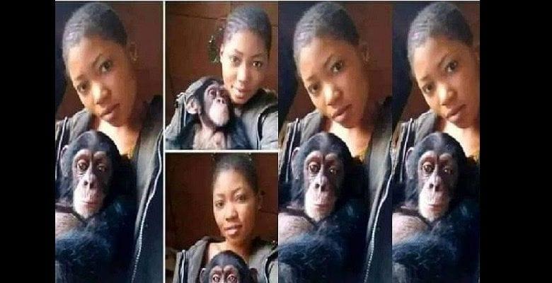 « Je préfère mon singe à un homme, il me satisfait au lit », dixit une jeune Nigériane
