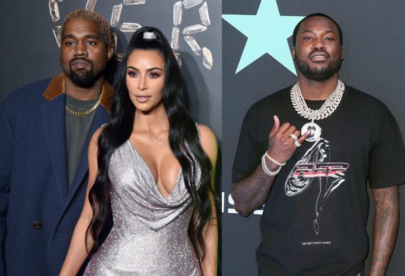 Kim Kardashian et Kanye West seraient dans un triangle amoureux avec Meek Mill
