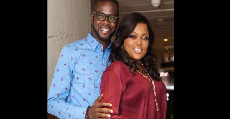 title L'actrice nigériane Funke Akindele arrêtée par la police. Son mari recherché