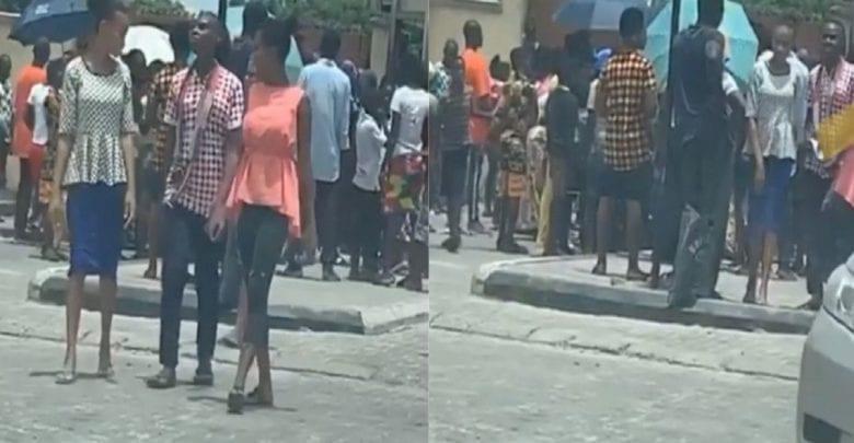 Nigeria/ COVID-19: Les pauvres se rassemblent devant les résidences des riches pour quémander