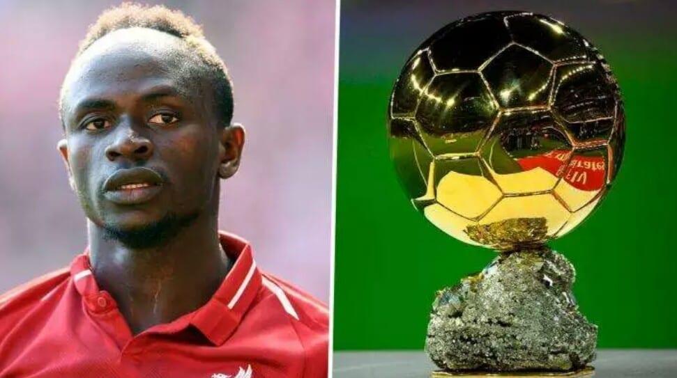 Sadio Mané encore plus déterminé à gagner le ballon d'or cette année