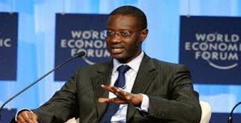 """Tidjane Thiam: """"l'Afrique a fait de grands progrès sur les 10 dernières années"""""""