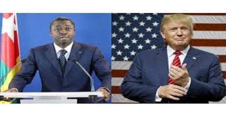 Togo: le message de Donald Trump à Faure Gnassingbé