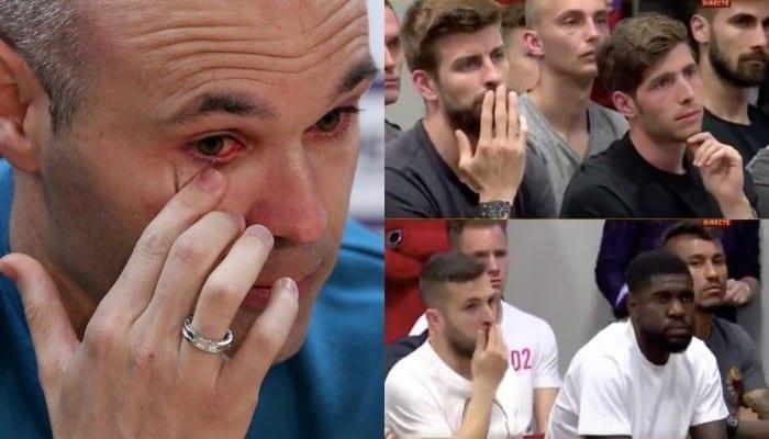 """""""Tout était sombre, je voyais tout en noir"""": Iniesta raconte sa dépression au FC Barcelone"""