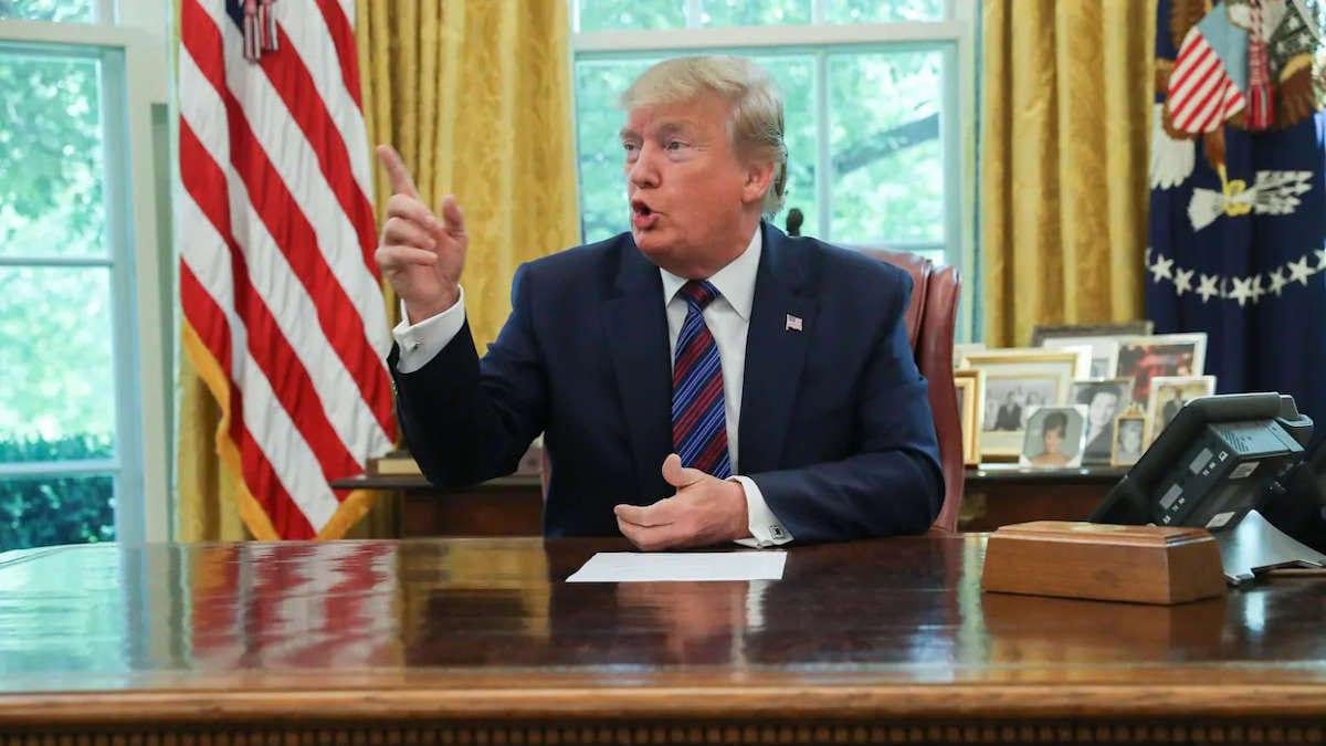 Coronavirus : Donald Trump veut suspendre l'immigration vers les USA