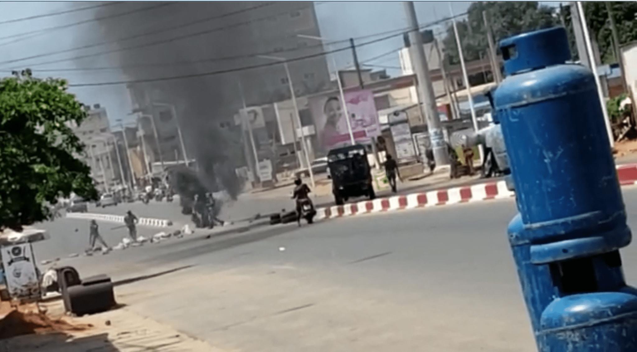 Urgent: ça chauffe dans le quartier d'Agbeyomé Kodjo  (Vidéo)