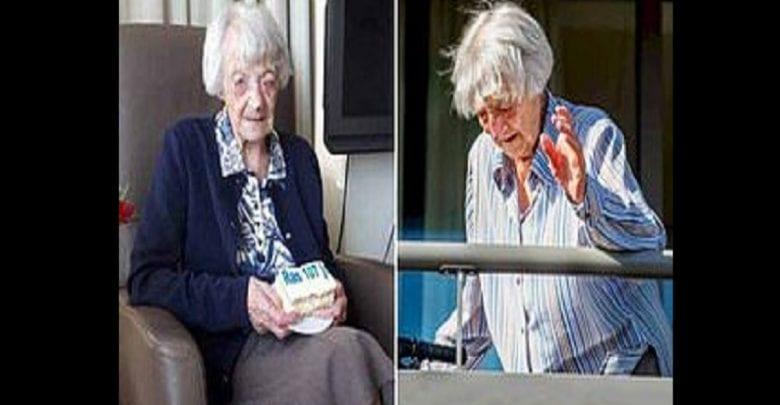 La femme de 107 ans guérie du coronavirus redonne espoir au monde entier