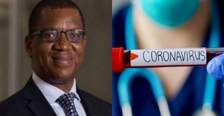 title «J'ai trouvé un remède contre le coronavirus», affirme un professeur nigérian