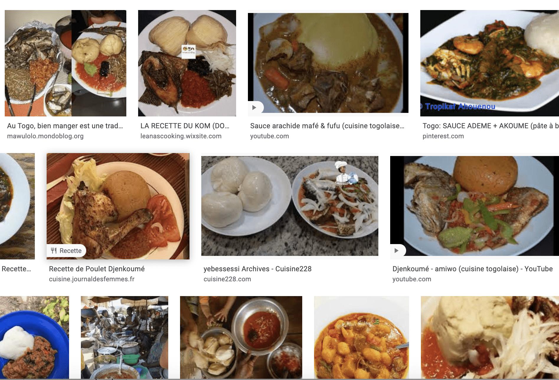 """Sénégal : """"La Main des Délices"""", le restaurant des bon plats togolais à bas prix basé à Dakar"""