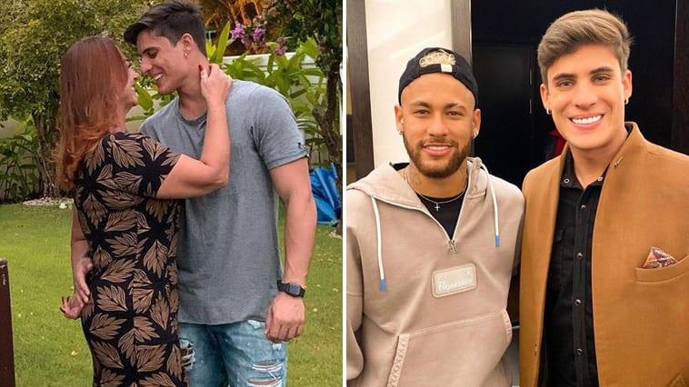 La mère de Neymar officialise sa relation avec son petit ami de 22 ans (Photo)