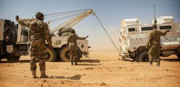 Au Mali, trois Casques bleus tchadiens ont trouvé la mort dans l'explosion d'une mine