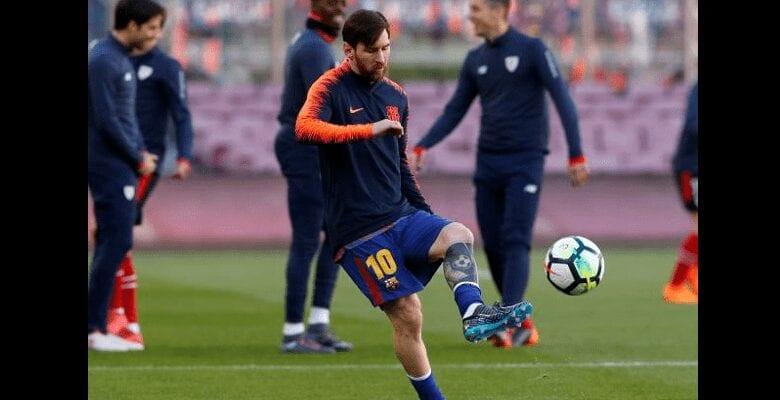 Barça: Lionel Messi explosif pendant les entrainements -Vidéo