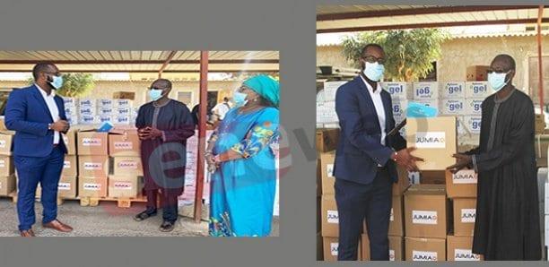 COVID-19 : Jumia fait un don de 10 000 masques au Sénégal.