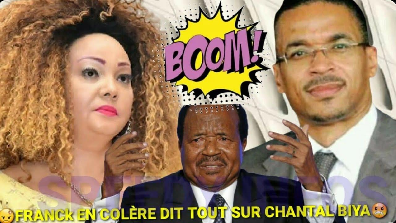 Cameroun : En colère, Franck Biya déballe tout sur la première dame