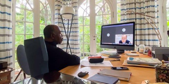 Climat : ce que se sont dit Ali Bongo Ondimba et Ban Ki Moon