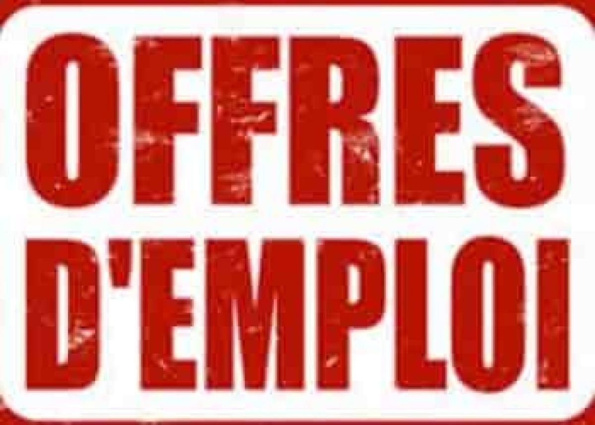 les offres d'emplois de la semaine du 31Mai au 6 Juin 2021