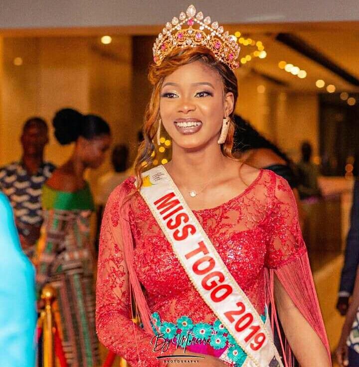 Coronavirus : Miss Togo 2019 sur le point de faire deux mandats