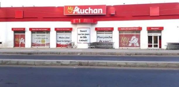 Covid-19 : Un cas positif au siège d'Auchan