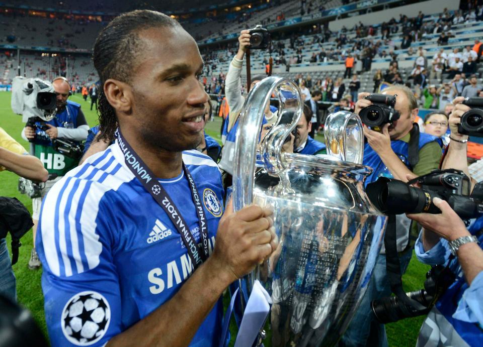 Didier Drogba enseigne la persévérance à travers le récit de sa Ligue des Champions remportée