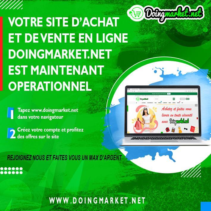 Doingmarket, votre boutique de vente en ligne