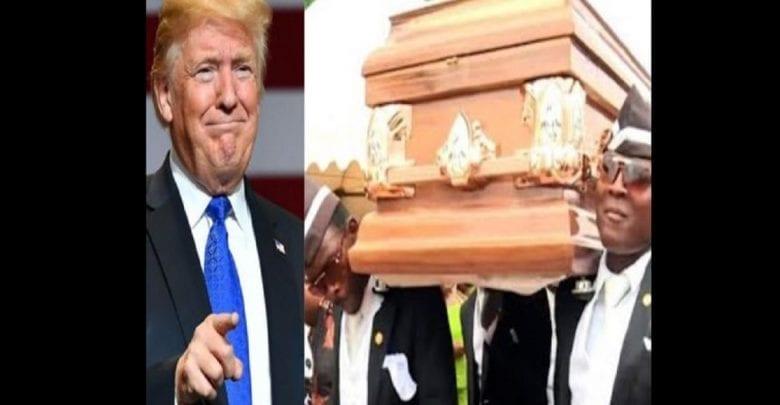 Quand Donald Trump utilise la vidéo des «Danseurs du Cerceuil» pour se moquer de Joe Biden
