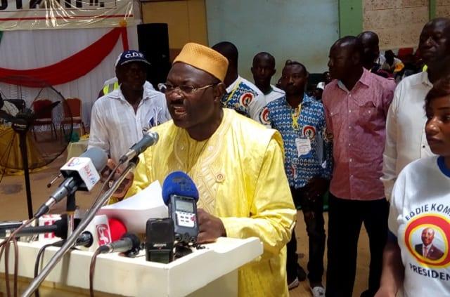 Burkina : Eddie Komboigo investi candidat du CDP pour remplacer Blaise Compaoré