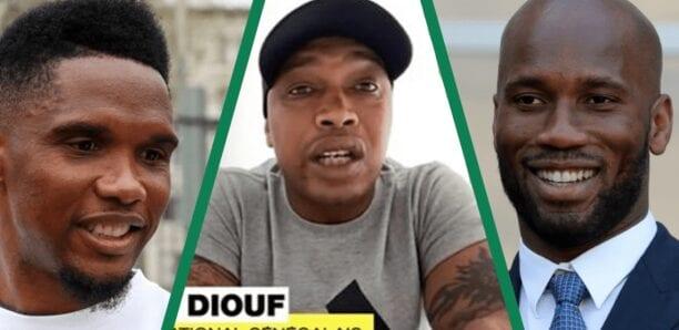 El Hadji Diouf se dit meilleur que Drogba et Eto'o