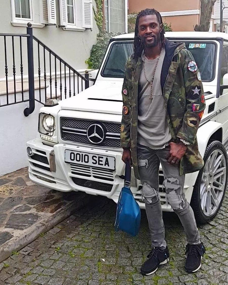 Voici l'estimation de l'incroyable fortune d'Emmanuel Adebayor