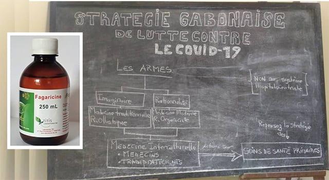 La Fagaricine 532 comme remède anti-covid au Gabon.